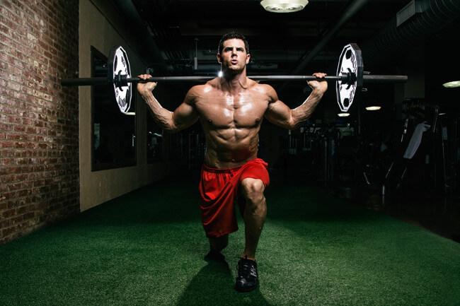 Never rest during a leg workout