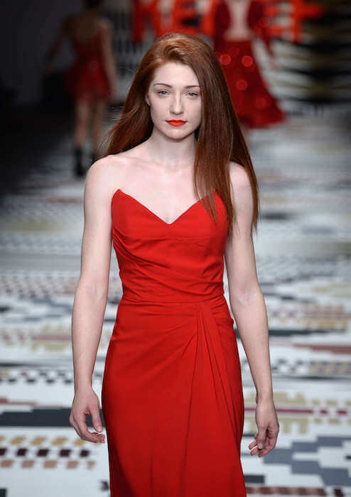 Nicola Roberts at Fashion For Relief Charity Fashion Show 2015