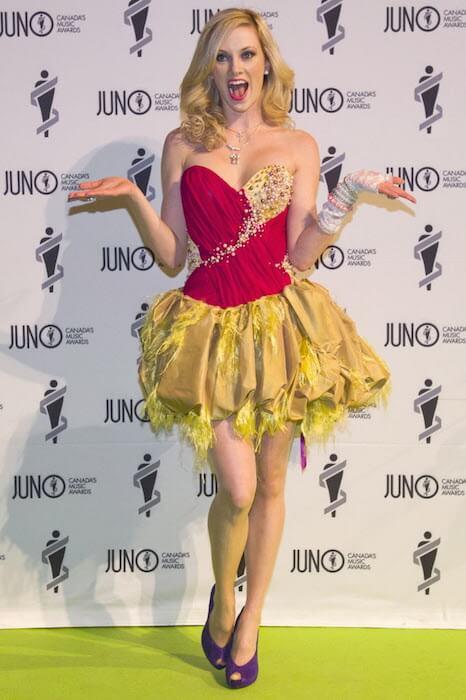Nicole Arbour at 2013 Juno Gala