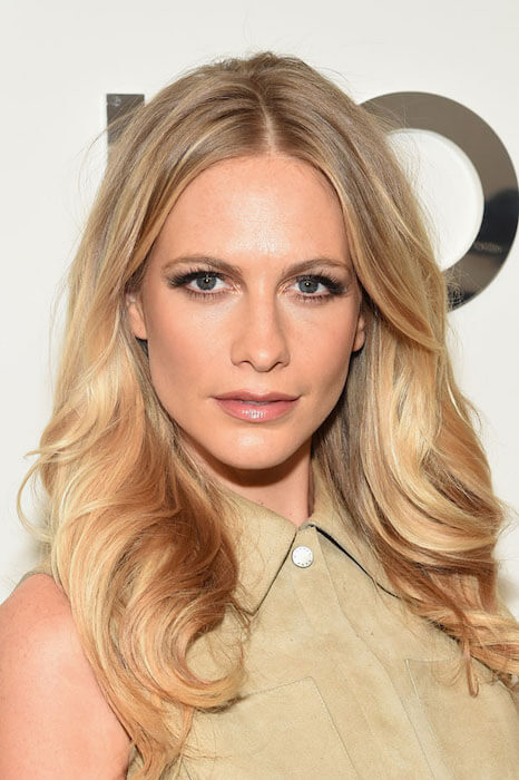 Poppy Delevingne during Michael Kors Fashion Show 2015