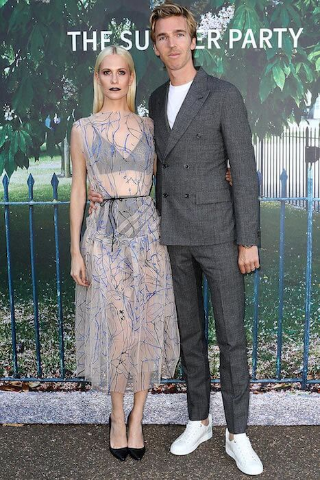 Poppy Delevingne with James Cook at Serpentine Gallery Summer Party 2015....He motivates her to stay fit and the result is that they both look great together