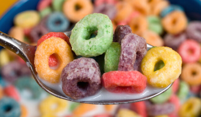 Processed cereals
