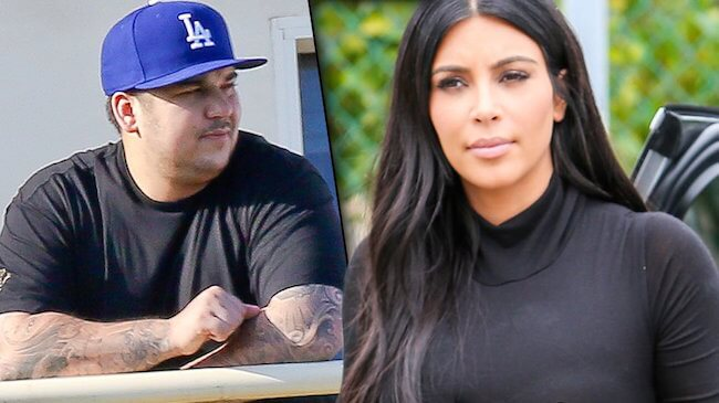 Rob Kardashian and Kim Kardashian: They may fight, but they are always together