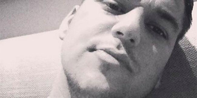 Rob Kardashian selfie