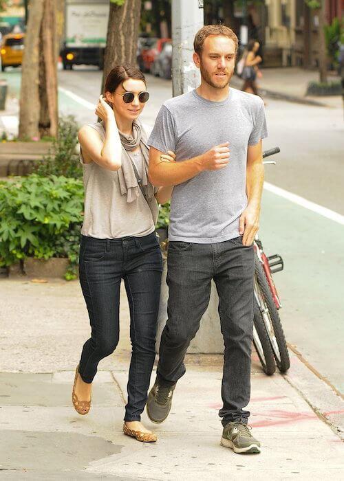 Rooney Mara and boyfriend Charlie McDowell take an afternoon walk in Manhattan in 2013