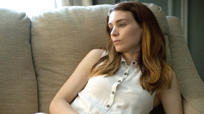 Rooney Mara in one of the scenes from the 2013 movie Side Effects