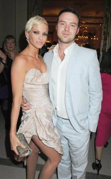 Sarah Harding and her ex-boyfriend Tom Crane