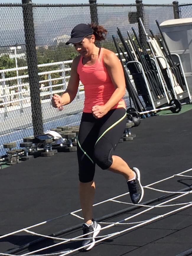 Sarah Robb O'Hagan running