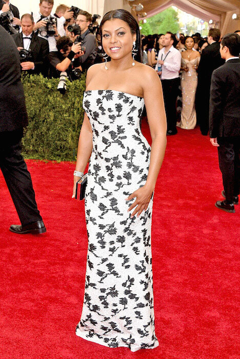 Taraji P. Henson arrives at MET Gala 2015