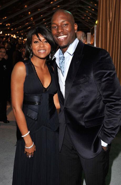 Taraji P. Henson with ex-boyfriend Tyrese Gibson
