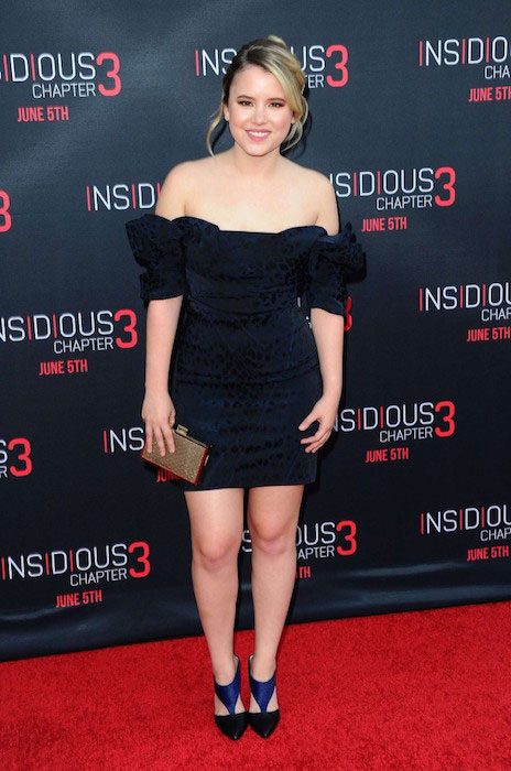 Taylor Spreitler at Insidious Chapter 3 premiere on June 5, 2015