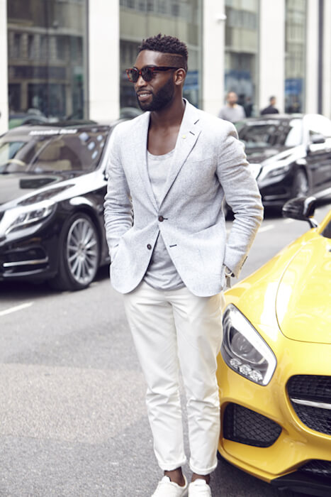 Tinie Tempah at 2015 London Topman Fashion Show