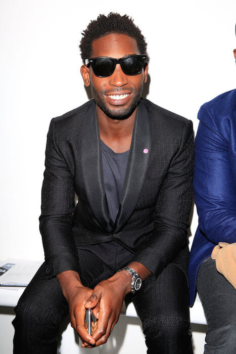 Tinie Tempah at Agi & Sam AW15 Fashion Show in London