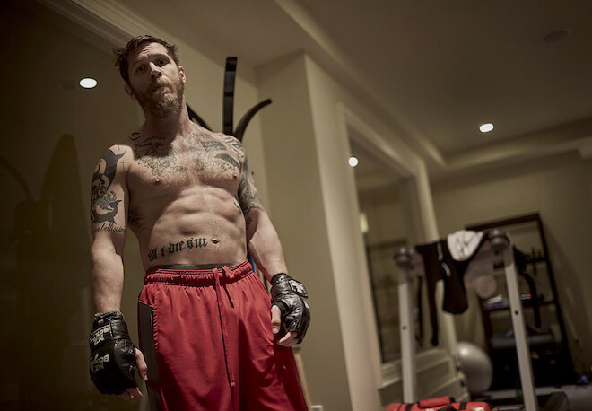 Tom Hardy body 2015
