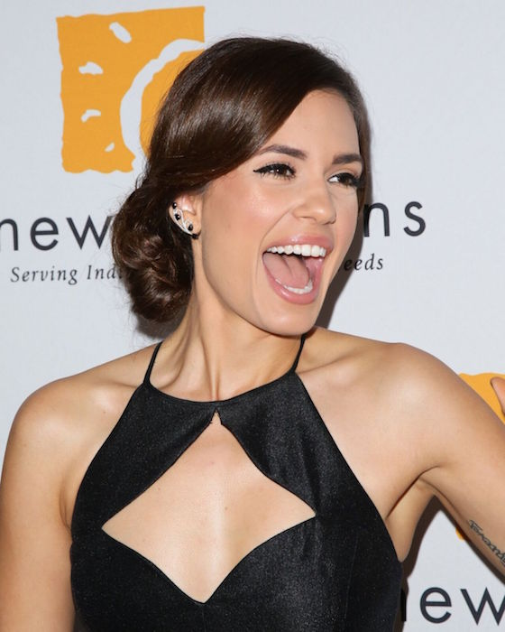 "Torrey DeVitto at New Horizons ""Havana Nights"" 2015 Gala Fundraiser"