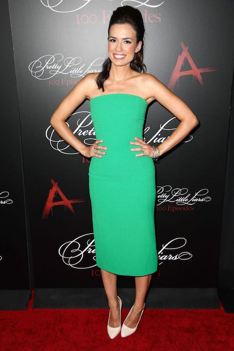 Torrey DeVitto at Pretty Little Liars 100th Episode Celebration Party in Hollywood