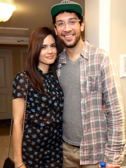 Torrey DeVitto and Rick Glassman