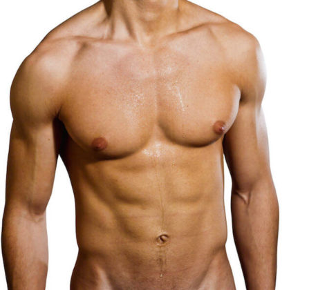 Shirtless Male Muscular Frat Boy Jock Ripped Abs V Line