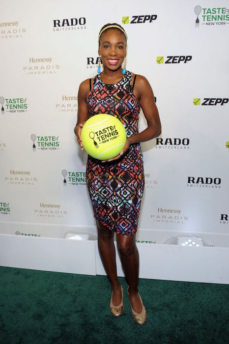 Venus Williams at 2015 Taste of Tennis Gala in New York City