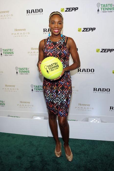 Venus Williams at 2015 Taste of Tennis Gala in New York City