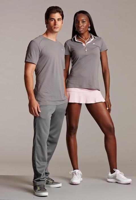 Venus Williams and Elio Pis