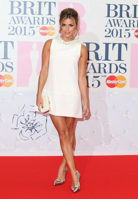 Zoe Hardman during Brit Awards 2015
