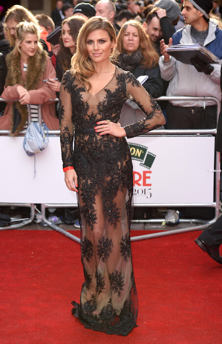 Zoe Hardman attends Jameson Empire Awards 2015