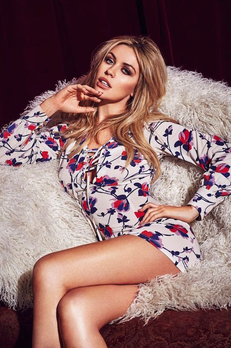 Abbey Clancy launches her 2015 Summer collection exclusively for Matalan in June 2015