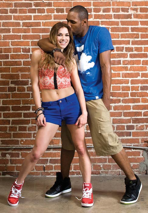 "Allison Holker and Stephen ""tWitch"" Boss"