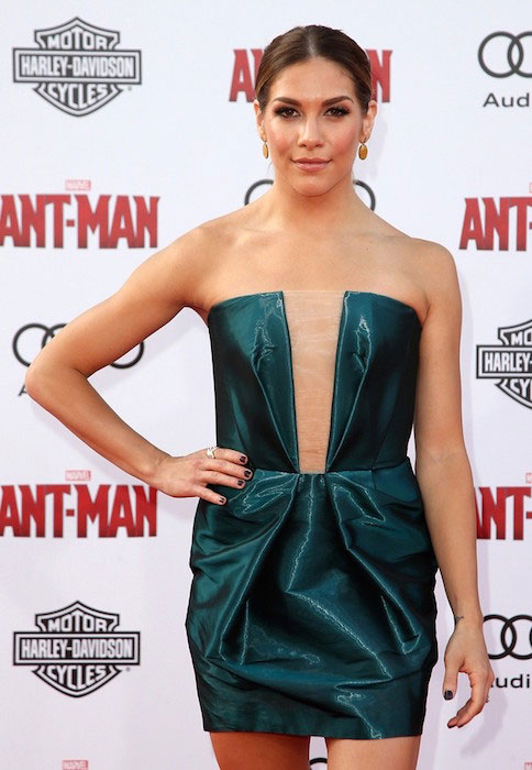 Allison Holker at the premiere of Ant-Man in 2015