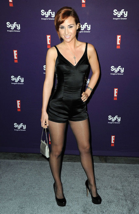 Allison Scagliotti at Comic-Con Party