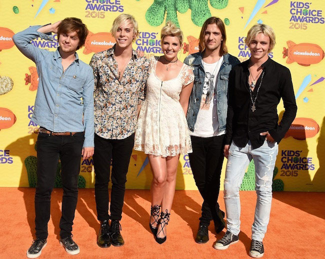 Band R5 at Nickelodeon's Kids Choice Awards 2015