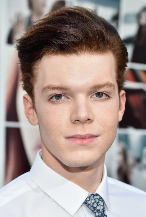 "Cameron Monaghan during the premiere of ""If I Stay"" in August 2014"