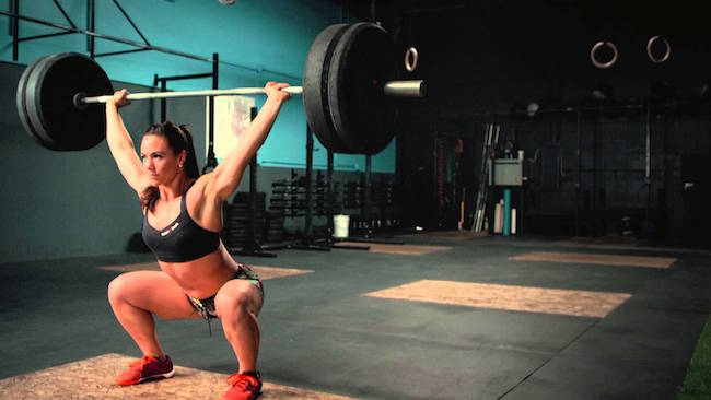 Camille Leblanc-Bazinet weightlifting