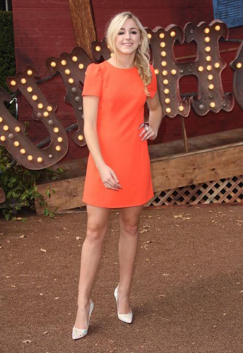 Chloe Lukasiak during Goosebumps premiere in Westwood