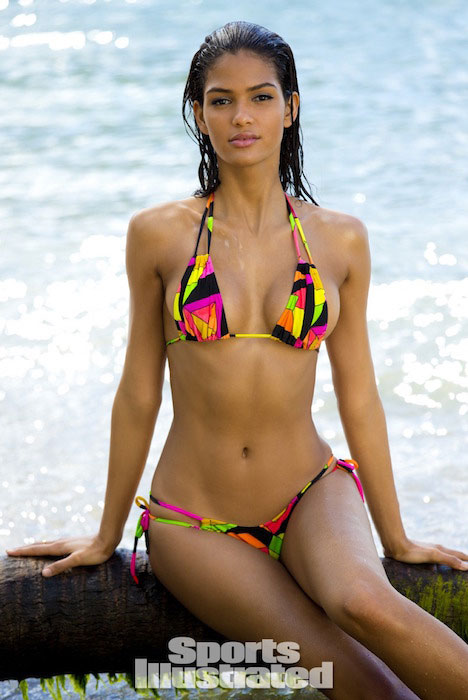 Cris Urena at Sports Illustrated Swimsuit Issue 2014