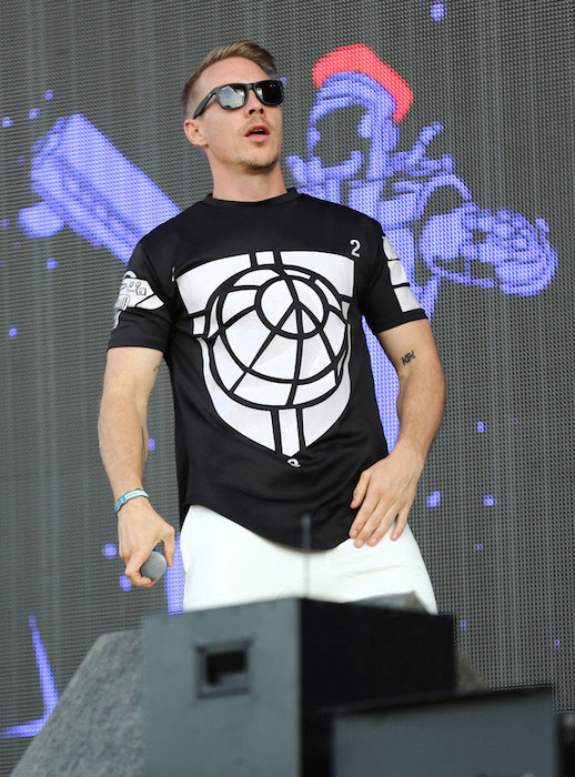 Diplo at the Day 1 of New Look Wireless Festival 2015