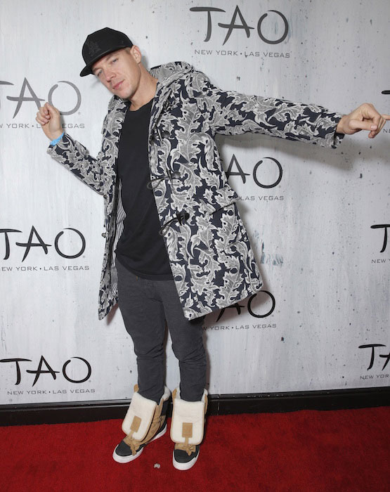 Diplo during TAO Sundance in Park City