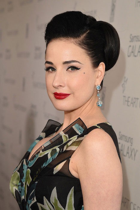 Dita Von Teese during Art of Elysium Gala 2015
