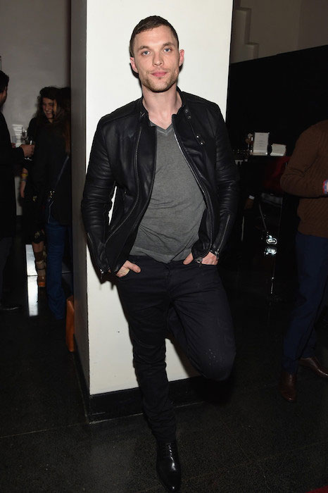 "Ed Skrein at the Miu Miu Women's Tales 9th Edition ""De Djess"" screening in February 2015"
