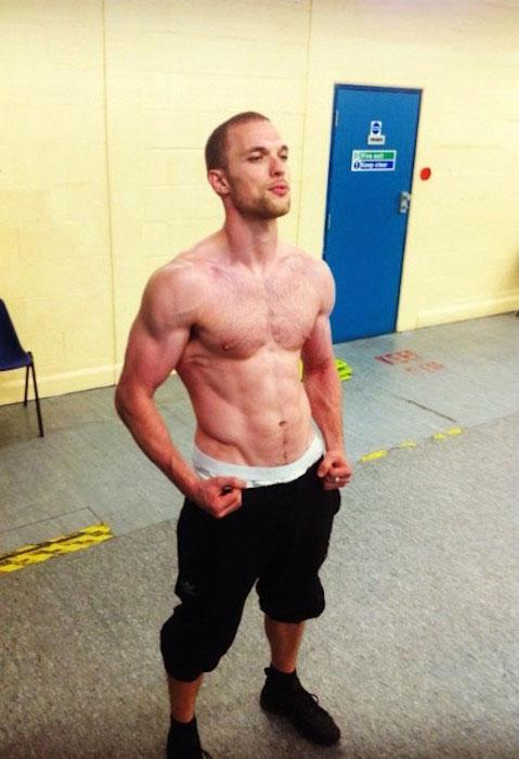 Ed Skrein shirtless body