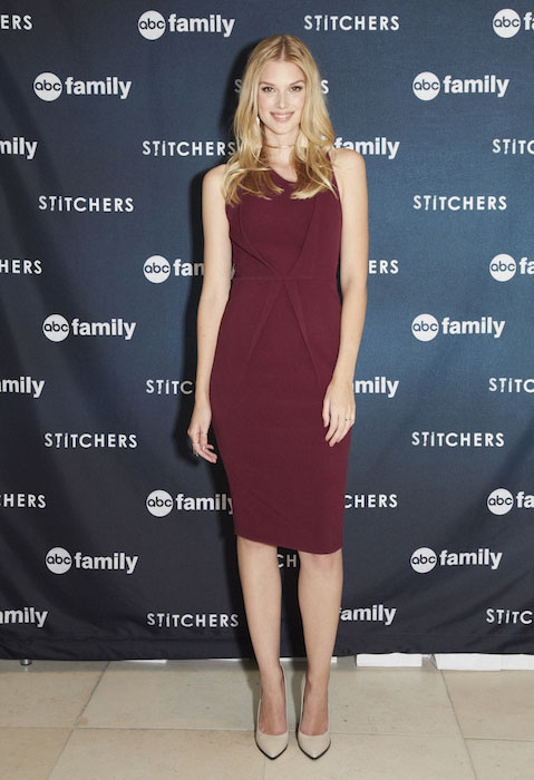 "Emma Ishta at the screening of ABC Family ""Stitchers"""