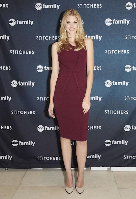 """Emma Ishta at the screening of ABC Family """"Stitchers"""""""
