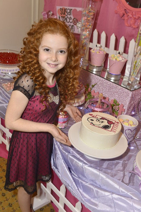 Francesca Capaldi co-hosted Peanut themed Valentine 2015 Party