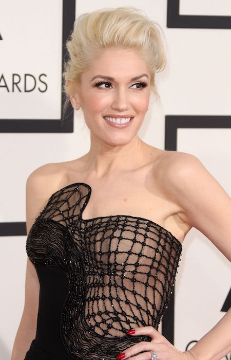 Gwen Stefani at 2015 Grammy Awards in Los Angeles