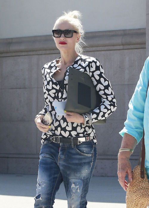 Gwen Stefani out in Universal City in August 2015