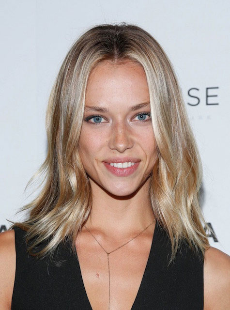 Hannah Ferguson at BAMcinemaFest 2015's 'The End Of Tour' New York Screening