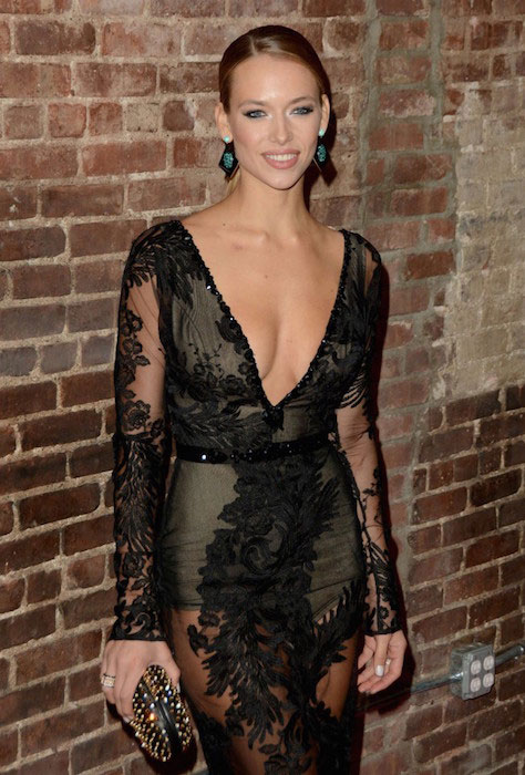 Hannah Ferguson during 2015 SI Swimsuit Issue Celebration