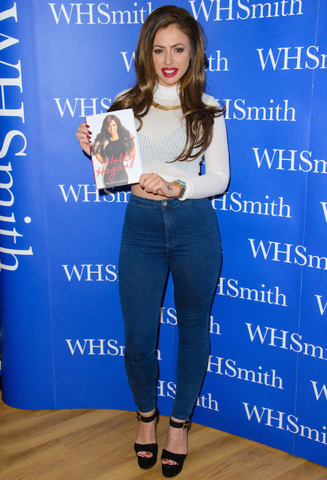 Holly Hagan on Not Quite A Geordie book tour in Lakeside, Essex on October 30, 2014