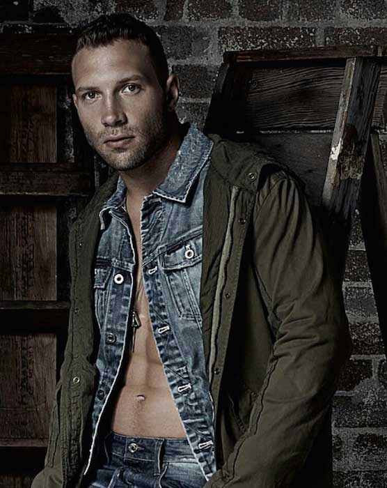 Jai Courtney handsome look